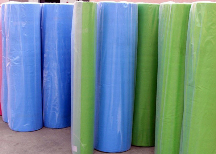SMS nonwoven fabric polypropylene Spun bonded non woven fabric laminated film 40g sms fabric