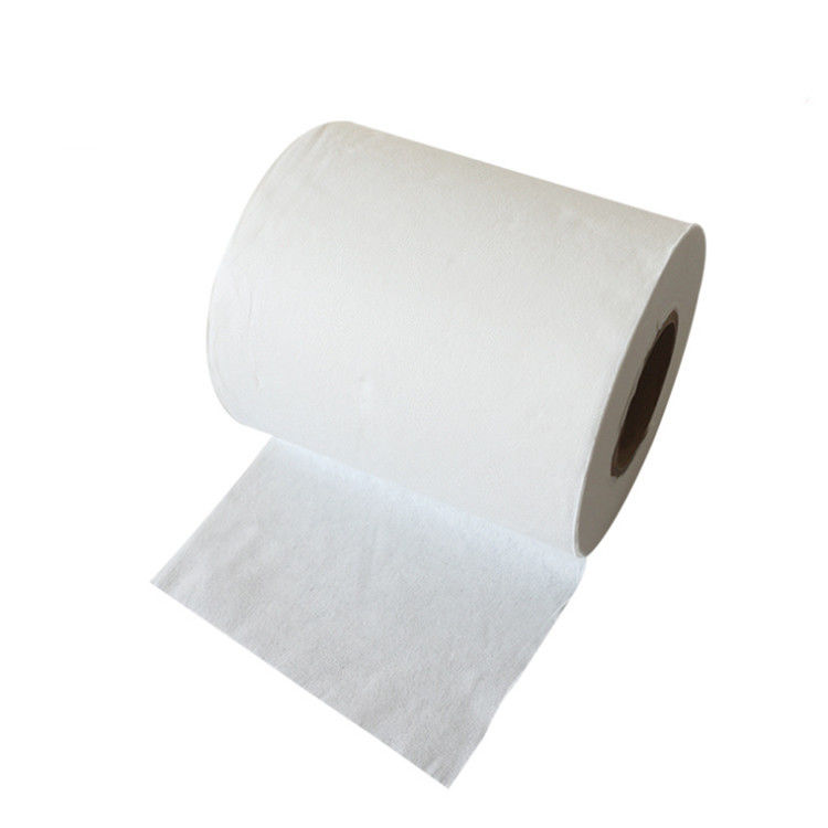 Nonwoven Wet Wipes Roll Spunlaced Nonwoven Fabric biodegradable dry wipes